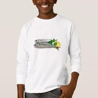 two mackerel with lemon T-Shirt