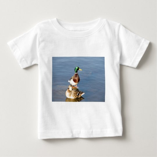 Two mallards baby T-Shirt