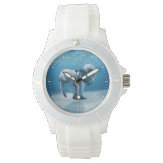 Two Manatees Swimming Watches