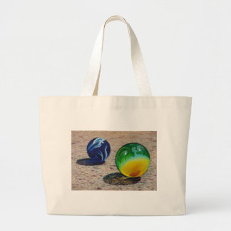 Two Marbles Large Tote Bag
