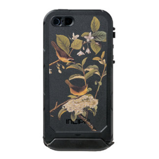 Two Maryland Yellowthroat Birds by Audubon Waterproof Case For iPhone SE/5/5s