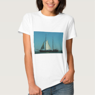 Two masted sailing barge t-shirt