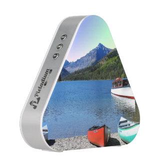 Two Medicine lake Glacier National Park Montana Bluetooth Speaker