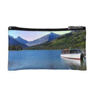 Two Medicine lake Glacier National Park Montana Cosmetic Bag