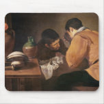 Two Men at Table, c.1620-21 Mouse Pad