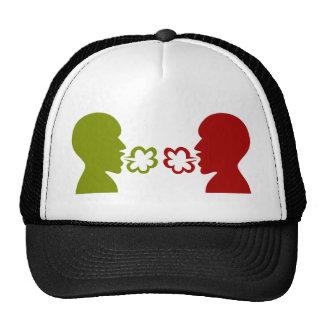 Two Men Breathing Icon Trucker Hat