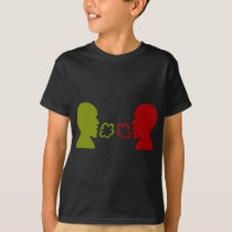 Two Men Breathing Icon T-Shirt