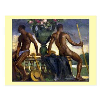 Two Men by Ranken Postcard