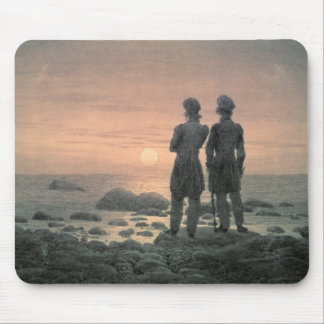 Two Men by The Sea Mouse Pad