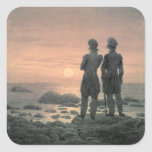 Two Men by The Sea Sticker