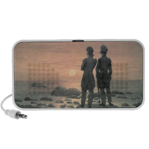 Two Men by The Sea Travelling Speaker