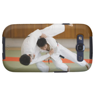 Two Men Competing in a Judo Match 2 Samsung Galaxy SIII Cover
