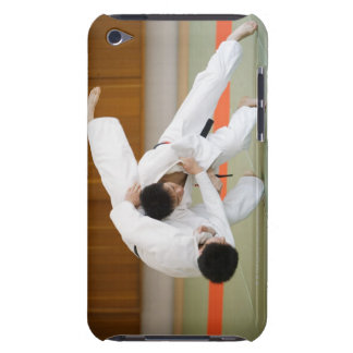 Two Men Competing in a Judo Match 2 iPod Case-Mate Case