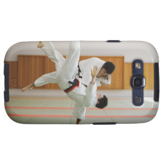 Two Men Competing in a Judo Match 3 Samsung Galaxy SIII Case