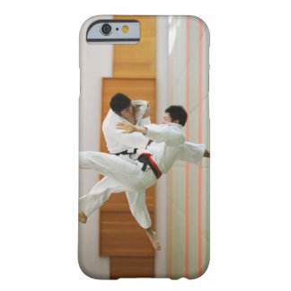Two Men Competing in a Judo Match 3 Barely There iPhone 6 Case