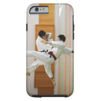 Two Men Competing in a Judo Match 3 Tough iPhone 6 Case