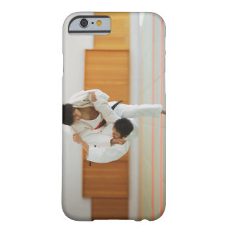 Two Men Competing in a Judo Match Barely There iPhone 6 Case