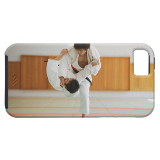 Two Men Competing in a Judo Match iPhone SE/5/5s Case
