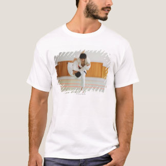 Two Men Competing in a Judo Match T-Shirt