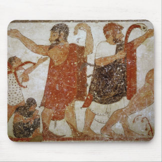 Two men, from the Tomb of the Augursx Mouse Pad