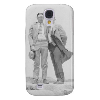Two Men on Rocks Samsung S4 Case