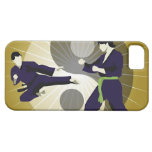 Two men performing martial arts in front of a iPhone SE/5/5s case