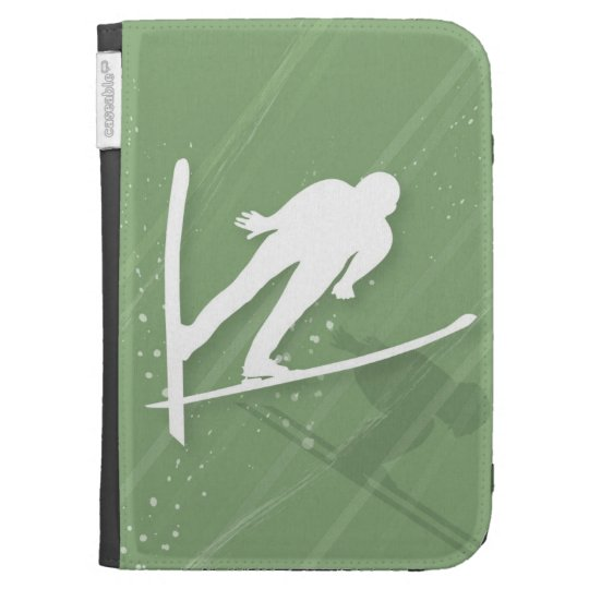 Two Men Ski Jumping Cases For Kindle