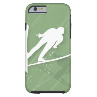 Two Men Ski Jumping Tough iPhone 6 Case