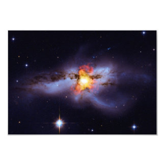 Two Merging Black Holes in Galaxy NGC 6240 Card