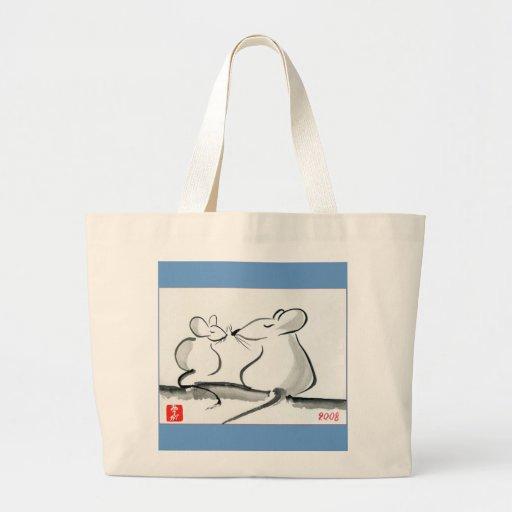 Two mice - bag.