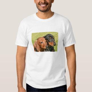 Two Mini Dachs T-shirt