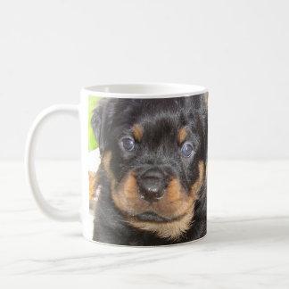 Two Mischievious Rottweiler Puppies Coffee Mug