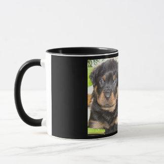 Two Mischievious Rottweiler Puppies Mug