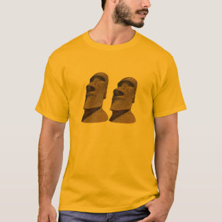 Two Moai - Easter Island - Clothes T-Shirt