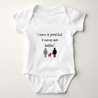 Two mommies baby bodysuit