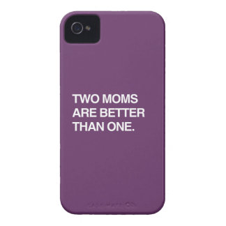 TWO MOMS ARE BETTER THAN ONE iPhone 4 CASES