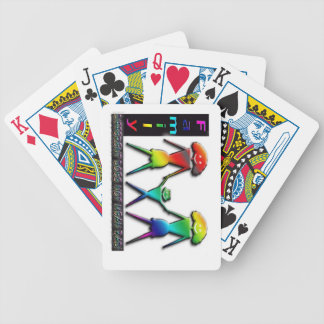Two Moms Rainbow Family Playing Cards