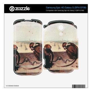 Two monkeys by Pieter Bruegel Samsung Epic Decals
