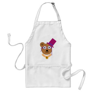 Two Monocles of Fury Apron