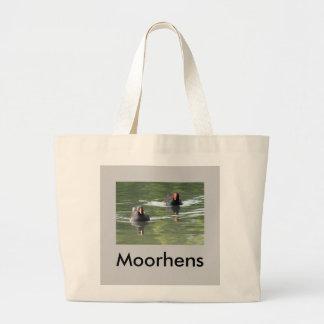 Two Moorhens Jumbo Tote Bag