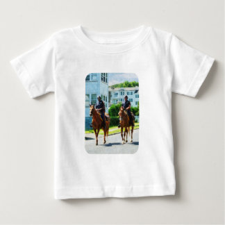 Two Mounted Police Baby T-Shirt