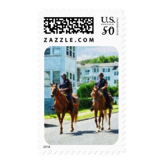 Two Mounted Police Postage