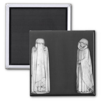 Two Mourners Magnet
