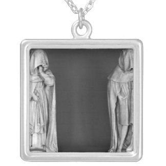 Two Mourners Necklace