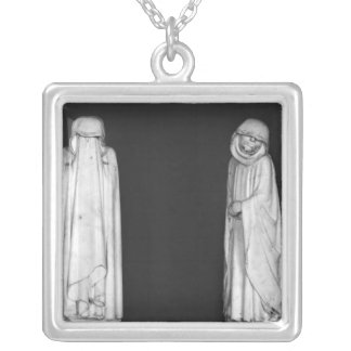 Two Mourners Pendant