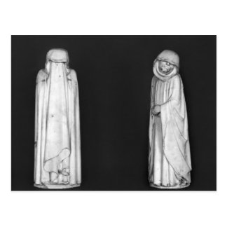 Two Mourners Postcard