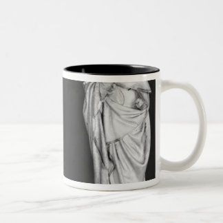 Two Mourners Two-Tone Coffee Mug
