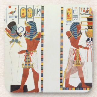 Two Murals from the Tombs of the Kings of Thebes Beverage Coasters