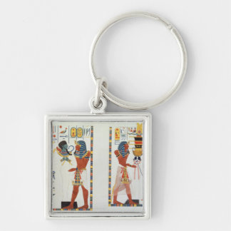 Two Murals from the Tombs of the Kings of Thebes, Key Chains