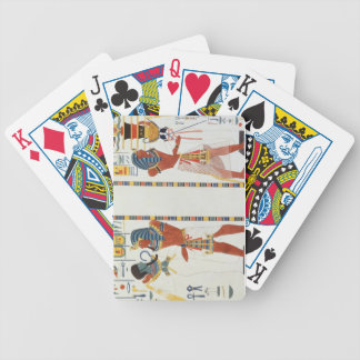 Two Murals from the Tombs of the Kings of Thebes, Bicycle Poker Deck